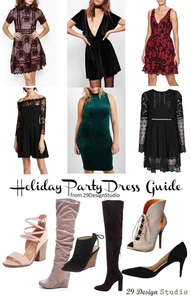 Holiday Party Dress Guide