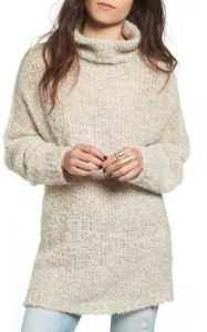 Cozy Turtleneck tunic sweater