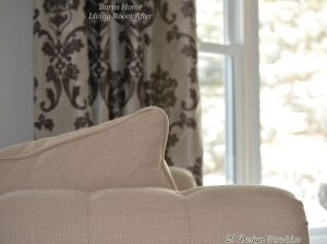 Close up of Beige Chair upholstery