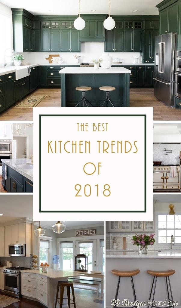 The Best Kitchen Trends For 2018 29 Design Studio