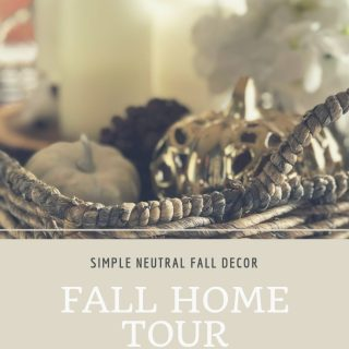 Fall Home Tour: Simple Neutral Fall Decor Ideas