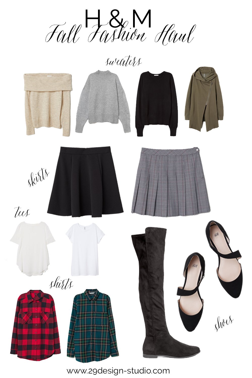 H&M Fall Fashion Haul, Fall Capsule Wardrobe