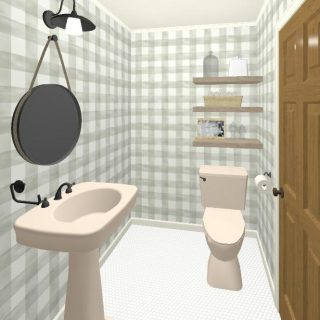 Our Home Powder Bathroom Renovation Ideas