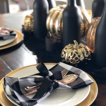 Elegant and Sophisticated Halloween Decor