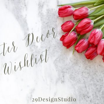 Fresh, Floral, and Fun Easter Decor