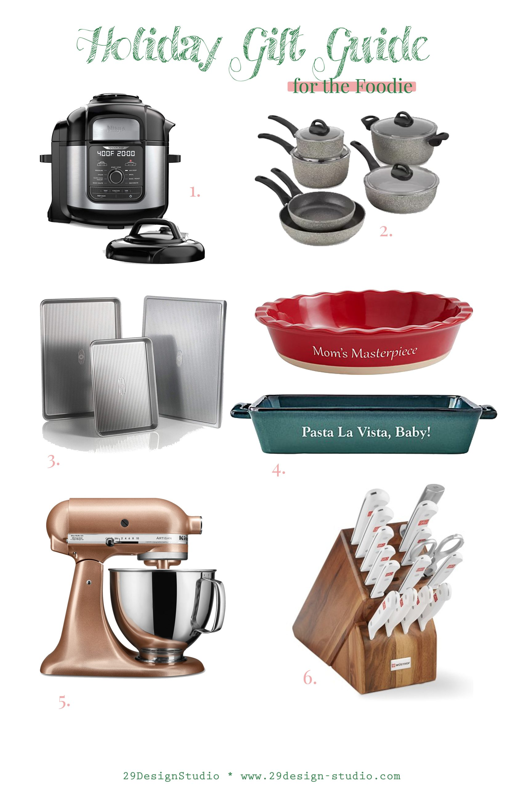 Christmas Gift Ideas for the Cook, Baker, Foodie