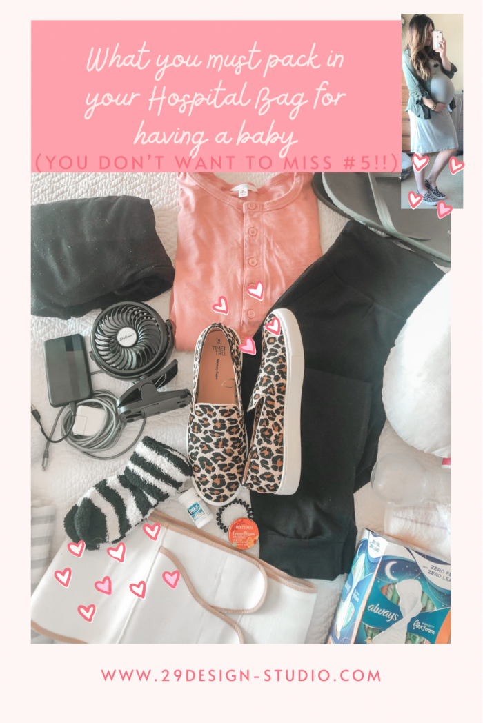What to pack in your Hospital Bag for a new baby (You don't want to miss #5)