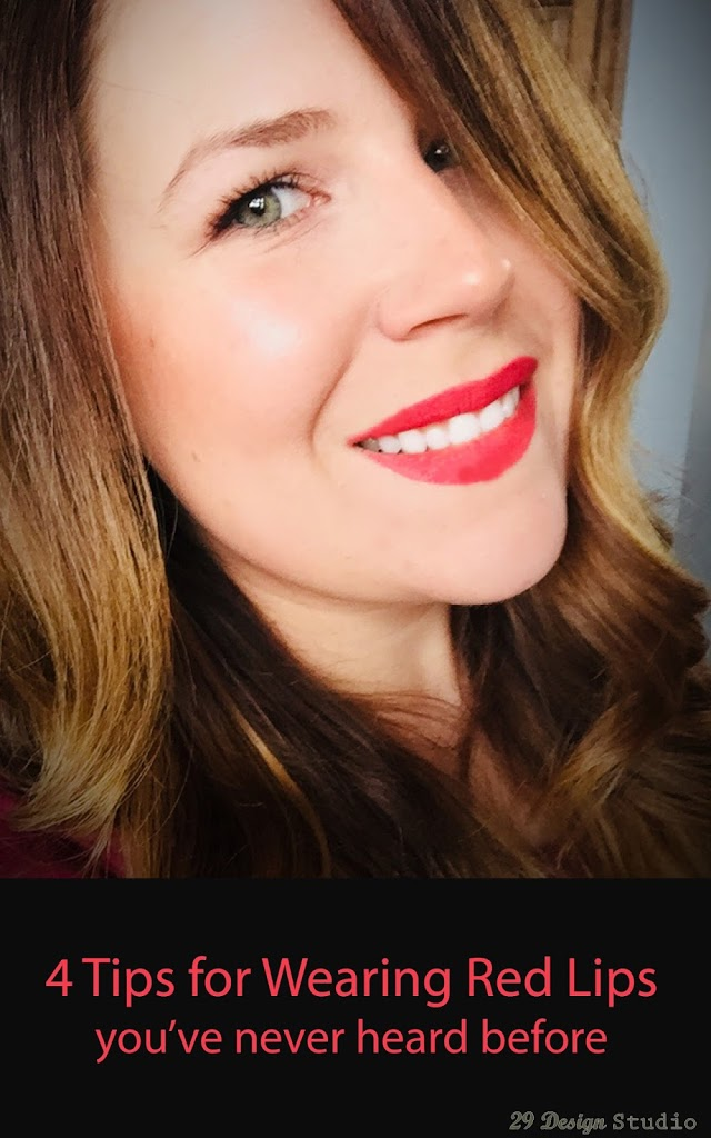 4 Tips to wearing a red lip you must know
