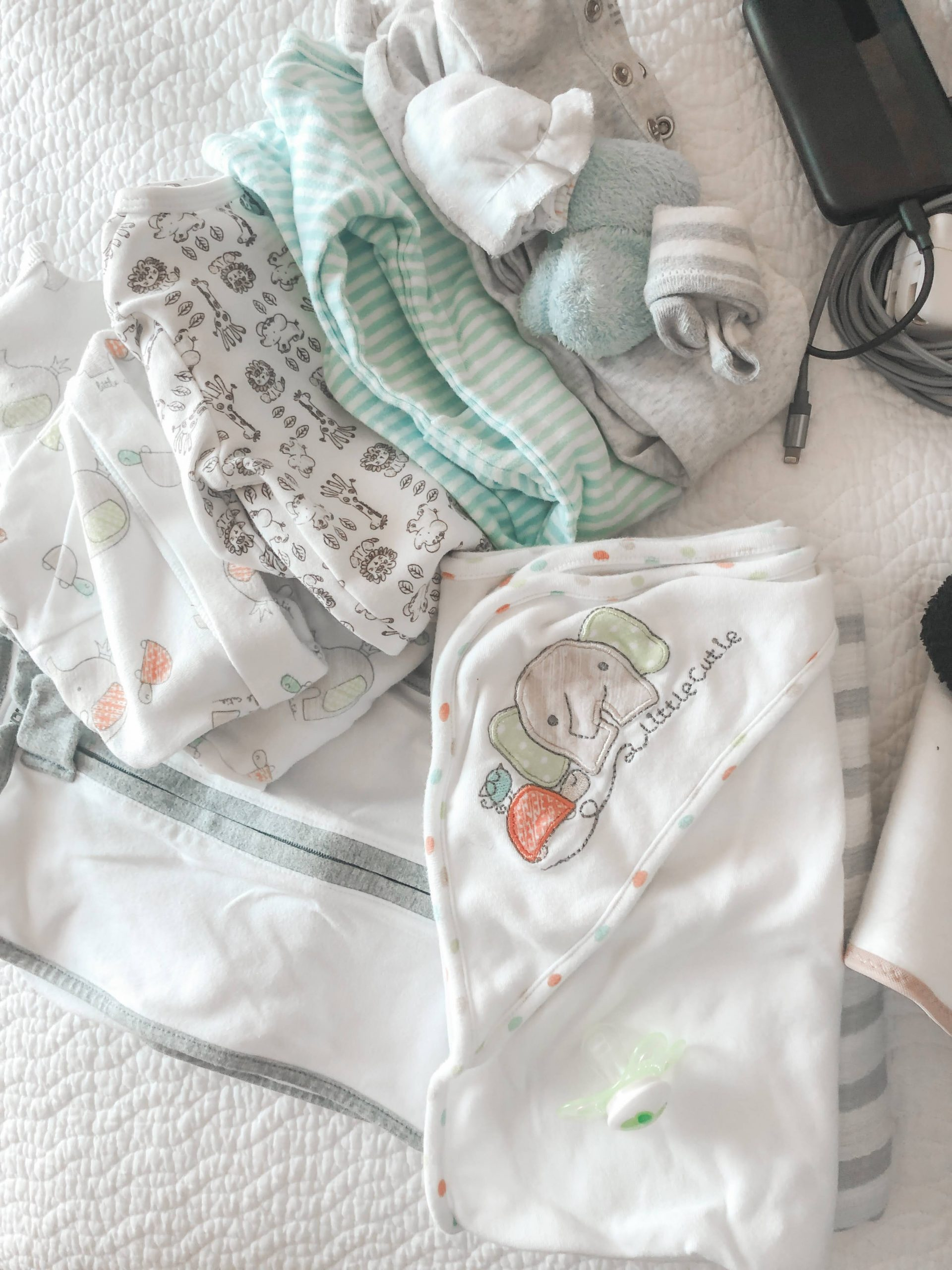 What to pack for baby in your hospital bag